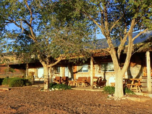 Living green at Valley of the Gods Bed and Breakfast