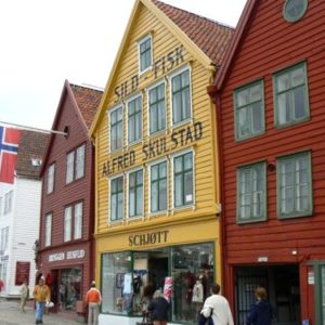 Colorful Bergen, Norway