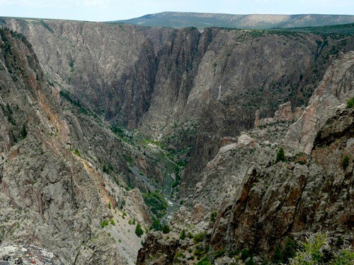 Visiting the North Rim at Black Canyon of the Gunnison National Park