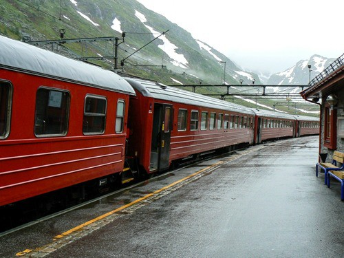 Riding the rails in Norway on a cruise excursion gone wrong