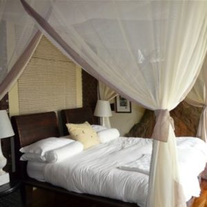 Romantic bedroom at Madikwe Hills Private Game Lodge