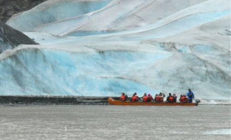 Speedcat adventure to Davidson Glacier