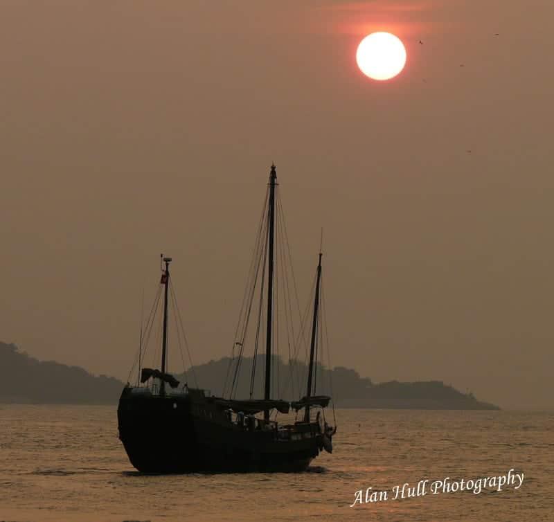 aberdeen-hong-kong-sunset