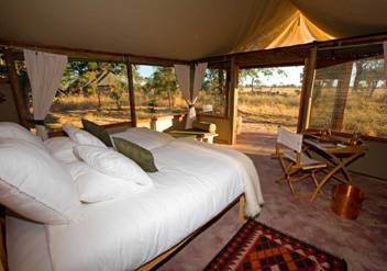 african-tent-luxury-lodging & African Luxury Safari Advice for Baby Boomers