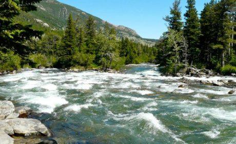Stillwater River near Nye, Montana