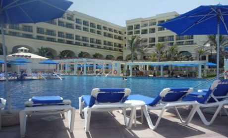 Relax by the pool at CasaMagna Marriott in Cancun