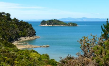 Abel Tasman Coast Trail in New Zealand