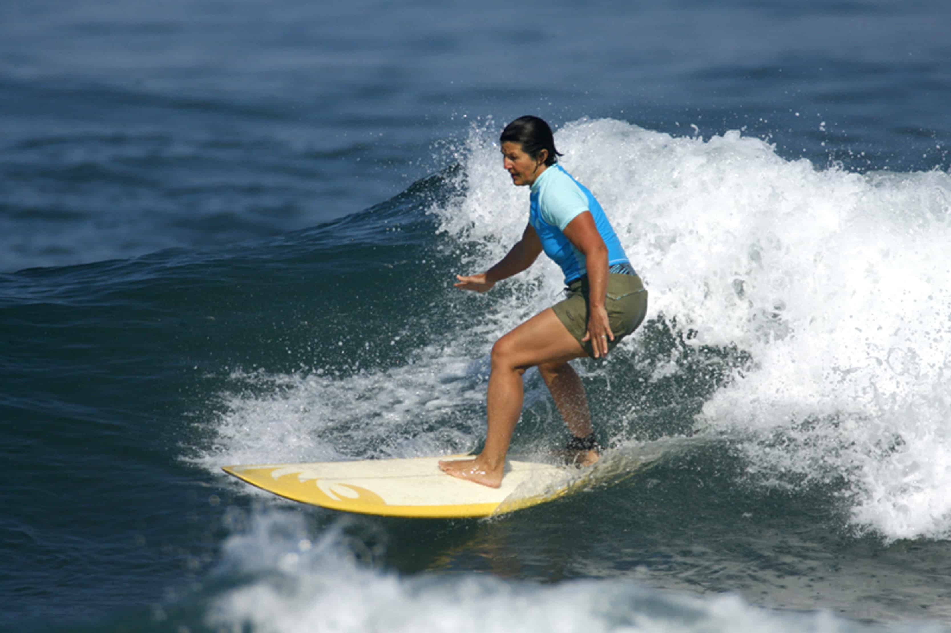 Boomer Women Learn To Surf At Las Olas Mexico