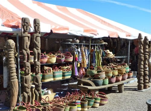 tucson-gem-show-african-art-village