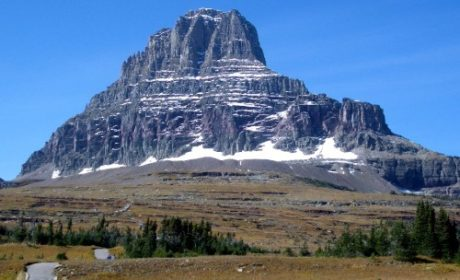 Mountain at Logan's Pass Glacier National Park