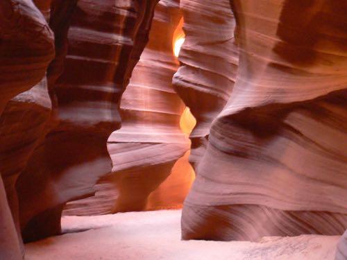 Upper Antelope Canyon near Page, Arizona
