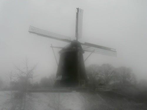 Riekermolen, an Amsterdam windmill