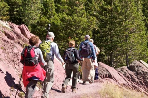 Five outdoor hiking apps for your next boomer travel adventure.