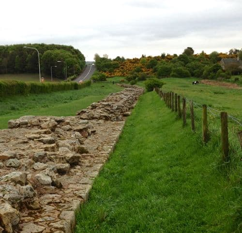 Walking adventure at Hadrian's wall