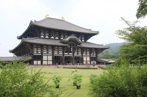 Todai-ji Temple in Nara, Japan