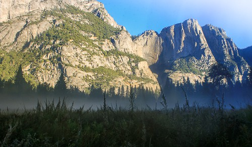 Hiking trails in Yosemite