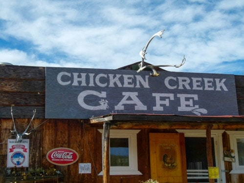 Beautiful Downtown Chicken Alaska