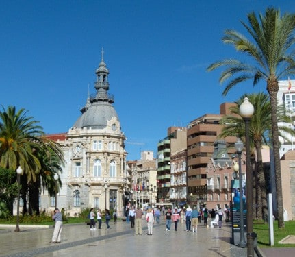 Walking in Cartagena, Spain