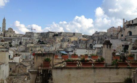 Sassi settlement in Matera