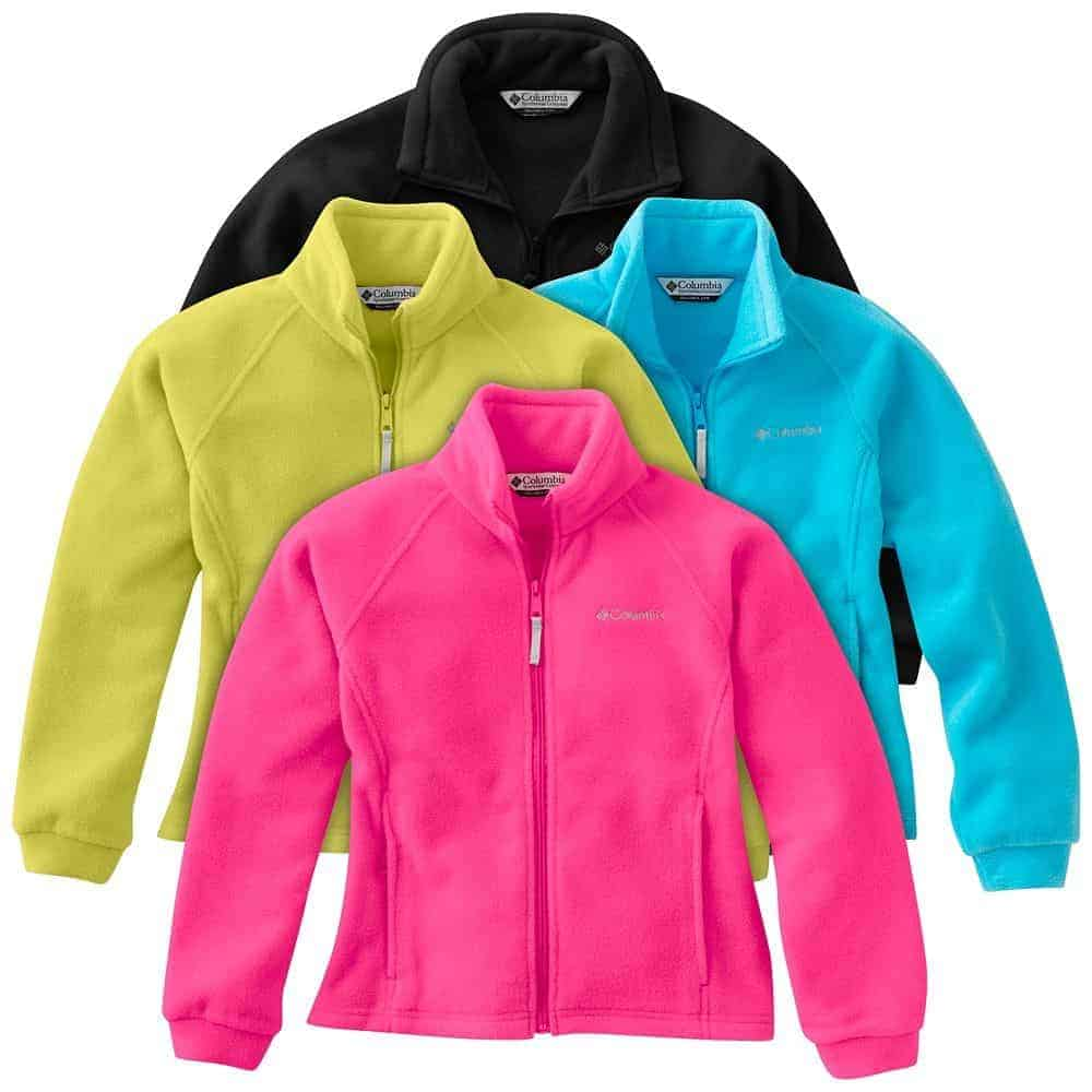 Columbia Fleece Jacket cold weather gear that packs light