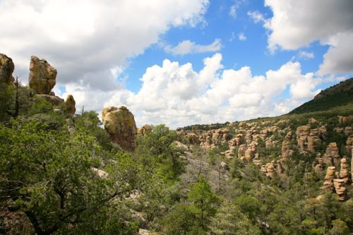 Stone Formations in Chiricahua National Monument