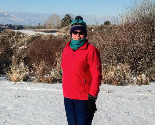 Cold weather gear for women that packs light.