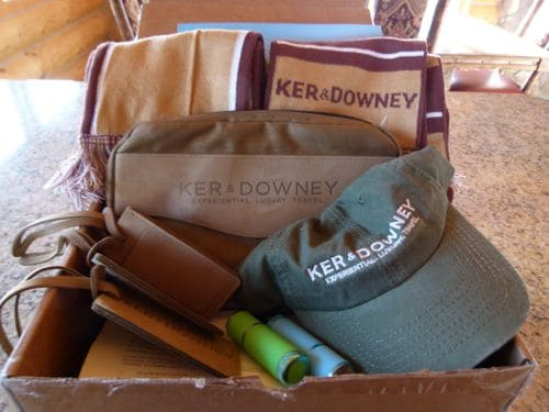 China tour document box from Ker & Downey holds lots of goodies.