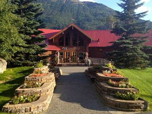 Luxury in Alaska at Kenai Princess Wilderness Lodge