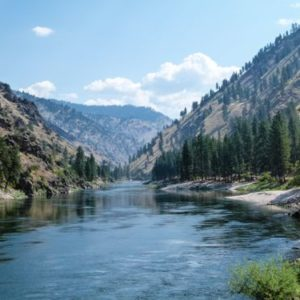 Salmon River near Riggins, Idaho