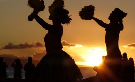 Old Lahaina Luau sunset