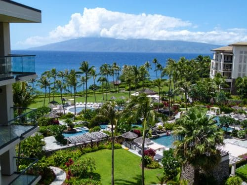 The view at Montage Kapalua Bay