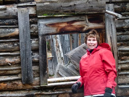 Donna Hull at Coolidge Ghost Town, Montana