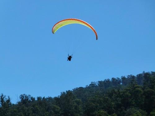 Paragliding over Maui