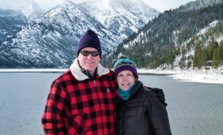 Donna and Alan Hull at Lake Como near Hamilton, Montana