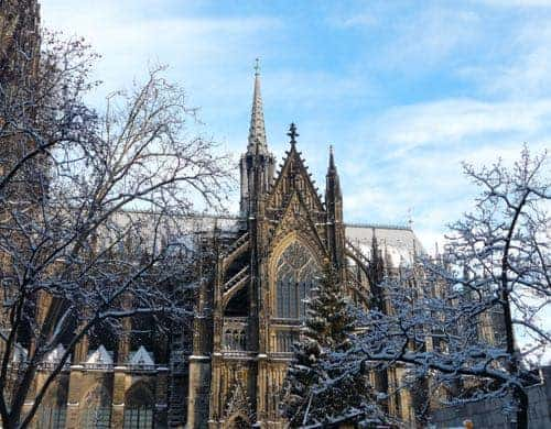 A Winter Walking Tour of Cologne, Germany