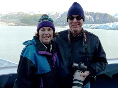 Donna and Alan_Hubbard Glacier