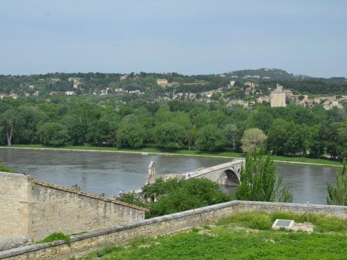View of the Pont d'Avignon
