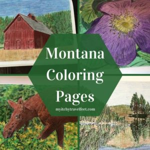 Montana Coloring pages