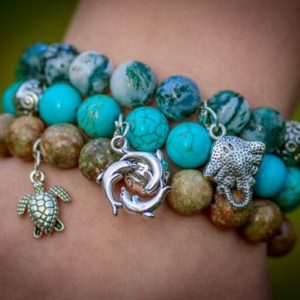 Handcrafted bracelets from Green Global Travel
