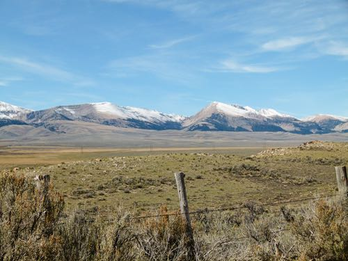 Medicine Lodge Valley on the Big Sheep Backcountry Byway in Montana