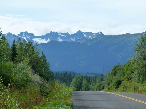 Cassiar Highway Mountains