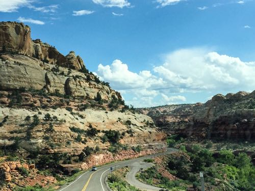 Drive Highway 12 Scenic Byway on a fun road trip in southern Utah.