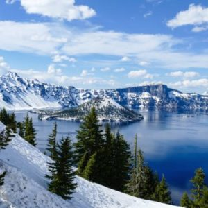 On a May Crater Lake trip, see Crater Lake National Park dressed in snow.