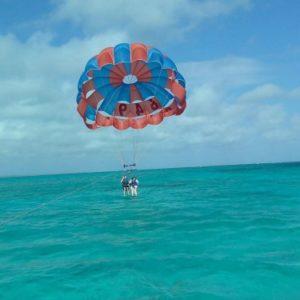 Parasailing Turks and Caicos