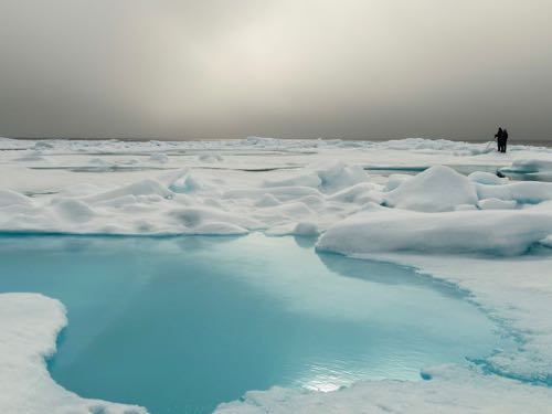 Boomer travel - bucket list trip - cruising the Arctic ice on a luxury expedition cruise.