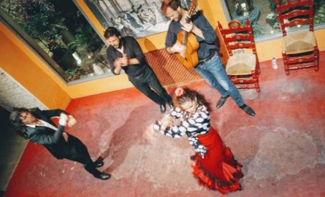 Dancing flamenco in Seville