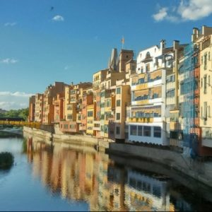 A view of Girona's river