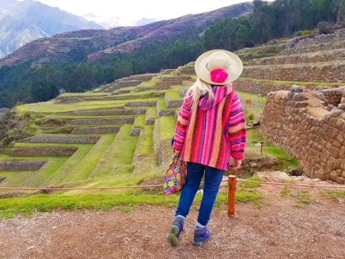 A view of Chinchero, Peru