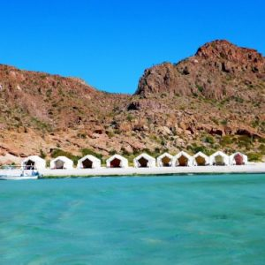 Glamping in Baja, California