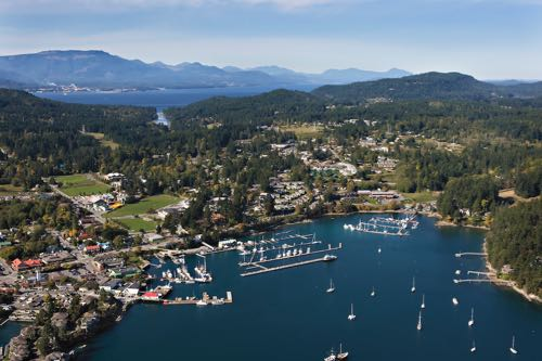 Let's Take a Fall Ferry Trip in the Southern Gulf Islands